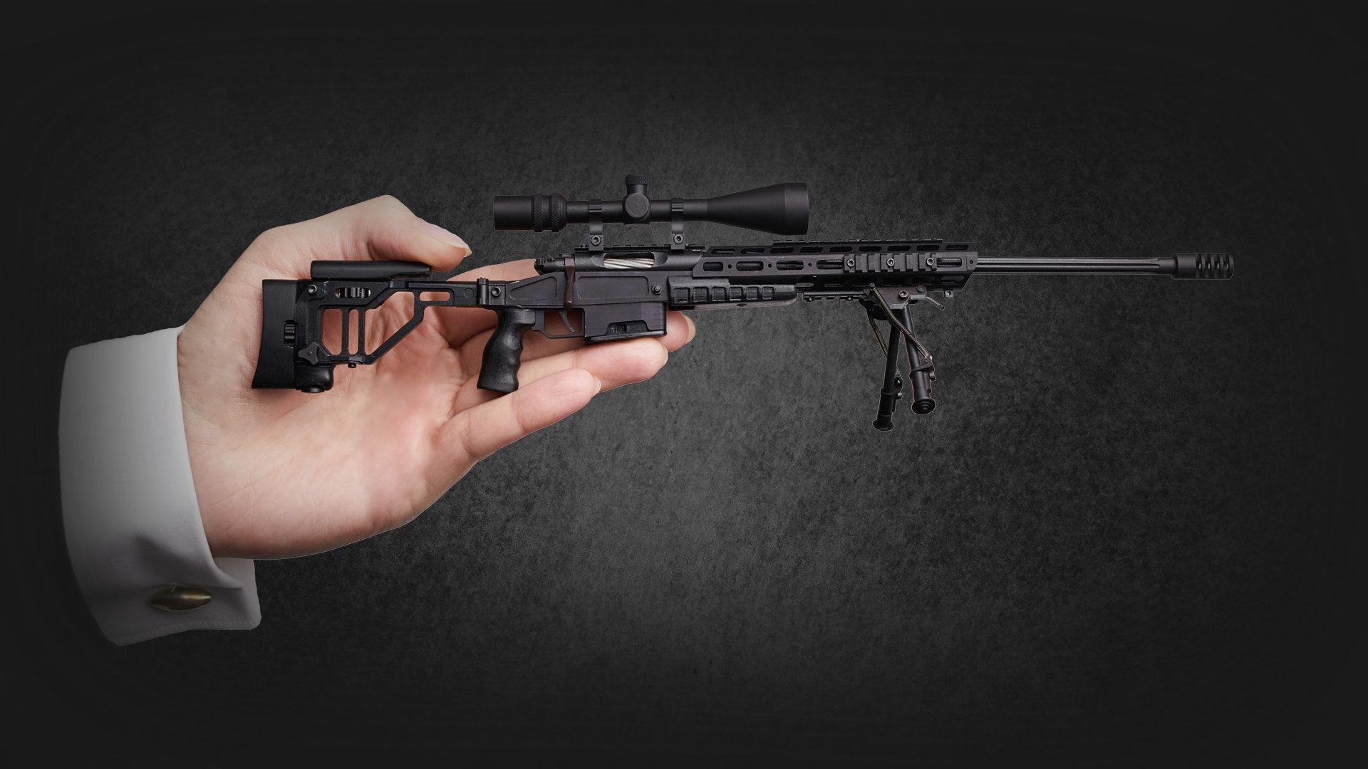 Orsis - миниатюрная модель оружия